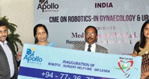 Robotic Surgery Helpline – launched in Sri Lanka